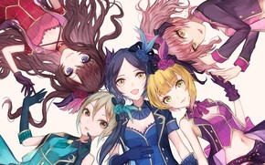 Picture style, girls, Idolm@ster