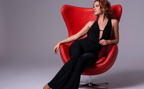 Picture chair, beauty, sitting, Alba Morales