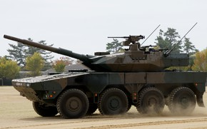 Picture Japan, Japan, 105 mm, Mitsubishi Heavy Industries, The self-defense forces of Japan, Wheeled combat vehicle, …
