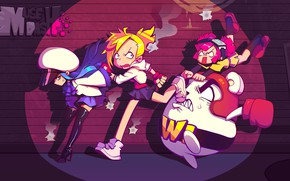 Picture girls, the game, run, Muse Dash