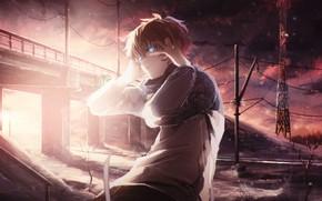 Picture light, anime, art, guy, Leo, Tink Of The Sensen