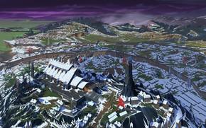 Picture landscape, the city, art, Banner Saga, arberrang