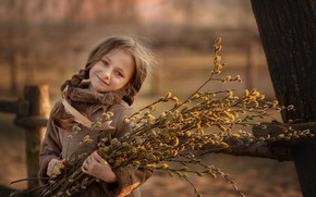 Picture spring, girl, IVA
