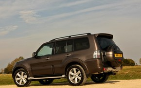 Picture Mitsubishi, 2012, side view, Pajero, SUV, Shogun, the five-door, Montero