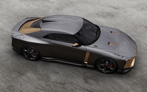 Picture top, Nissan, 2018, ItalDesign, GT-R50 Concept