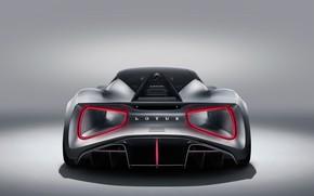 Picture Lotus, supercar, rear view, hypercar, 2019, Evia