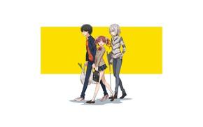 Picture Toaru Majutsu no Index, Kuroko Shirai, Kamijou Touma, Accelerator, Magical Index