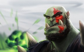 Picture Figure, Face, World of Warcraft, Warcraft, Art, Orc, Kratos, God of War, Kratos, Characters, by ...