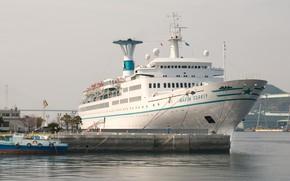 Picture Japan, ship, Maxim Gorky