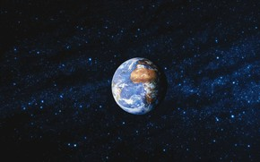 Picture space, earth, the world, planet