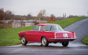 Picture Fiat, 1959, Classic car, Abarth, Sports car, Fiat Abarth, Fiat Abarth 2200 Coupe