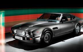 Picture Silver, Series II, Aston Martin V8 Vantage