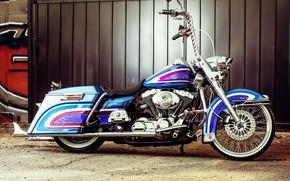 Picture Harley-Davidson, Bagger, Custom bike