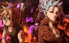 Picture anime, art, guys, Nanatsu no Taizai, The seven deadly sins