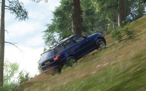Picture Land Rover, Range Rover, Game, Offroad, Xbox One, Forza Horizon 4