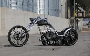 Picture Chopper, Harley-Davidson, Custom, Motorbike, Thunderbike, Flawless 2