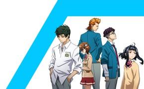 Picture characters, Kakumeiki Valvrave, Walgrave Liberator, blue stripe