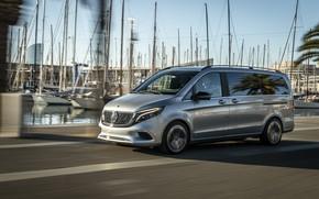 Picture Boat, Mercedes, van, Mercedes-Benz Concept EQV
