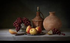 Picture berries, wine, fruit