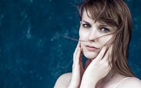 Picture girl, portrait, Isabelle