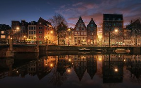 Picture the city, home, Amsterdam, channel, Netherlands, SWAT