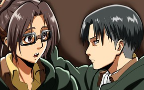 Picture anime, art, Shingeki no Kyojin, Attack of the titans, The invasion of the giants, Hanji …