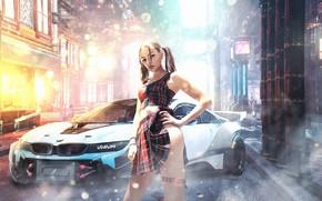 Picture girl, girls, girl, cyberpunk, girls, cyberpunk, cyberpunk 2077, cybergirl, cyberpunk 2077