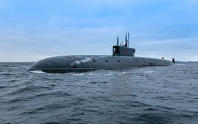 Picture Russia, Nuclear submarine missile cruiser, APRK Ave 955A Borey-A To a-549 Prince Vladimir