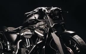 Picture Harley Davidson, bike, custom, Sportster 883R, URUS project
