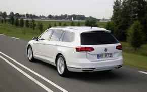 Picture speed, Volkswagen, universal, GTE, Passat, Variant, 2019