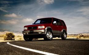 Picture SUV, Acura, 1997, AWD, midsize, 2019, Isuzu Trooper, Super Handling SLX, SLX