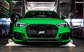 Picture Audi, front view, RS 4, ABBOT, universal, RS4, 2019, RS4+