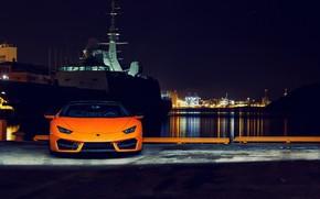 Wallpaper Lamborghini, Huracan, 2016, LP 580-2