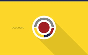 Picture wallpaper, sport, logo, football, Colombia