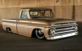 Picture Chevrolet, Amazing, Old school, Truck, Custom, Low, Pick up, Vehicle, C10