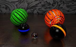 Wallpaper background, balls, balls