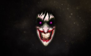 Picture Smile, Face, Joker, Eyes, Joker, Illustration, DC Comics, Fan Art, Characters, digital painting, Comic Art, …