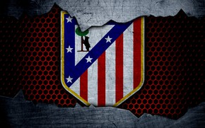 Picture wallpaper, sport, logo, football, Atletico Madrid