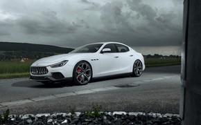 Picture overcast, Maserati, 2018, Ghibli, Novitec, GranSport