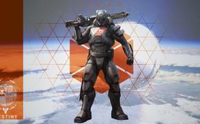 Picture soldiers, armor, Destiny, Titan