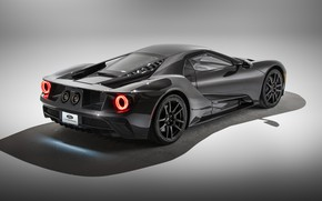 Picture Ford, supercar, Ford GT, 2020, Liquid Carbon