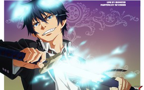 Picture smile, Ao no Exorcist, Rin, Blue Exorcist