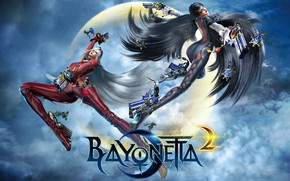 Picture Girls, The game, Flight, Two, Guns, Bayonetta 2