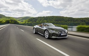 Picture markup, Lexus, convertible, 2021, LC 500 Convertible