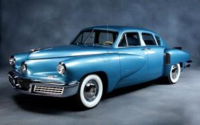 Picture machine, car, sedan, sedan, retro cars, Tucker Sedan 1948