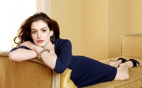 Picture look, pose, makeup, actress, singer, Anne Hathaway, Anne Hathaway