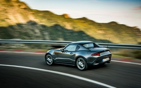 Picture Mazda, ridge, Targa, 2019, dark gray, MX-5 RF