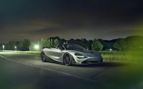 Picture night, McLaren, spider, Novitec, 720S