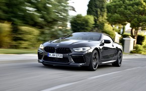 Picture road, movement, BMW, convertible, 2019, BMW M8, M8, F91, M8 Competition Convertible, M8 Convertible