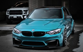 Picture Ford, BMW, Blue, Water, F80, Sight